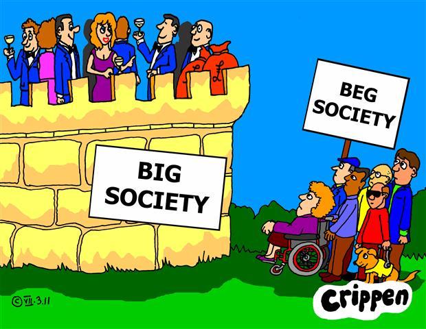 Big Society beg society