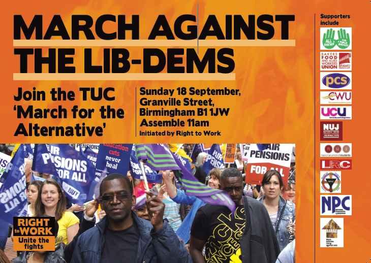 March Against the Lib Dems