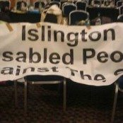 Islington DPAC banner