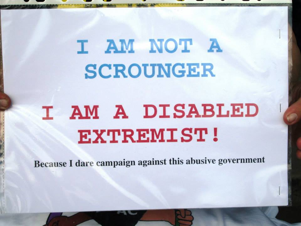 disabled extremist i dare