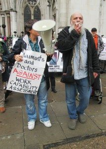 Picture taken at the Vigil for the appeal of the case in October 2013