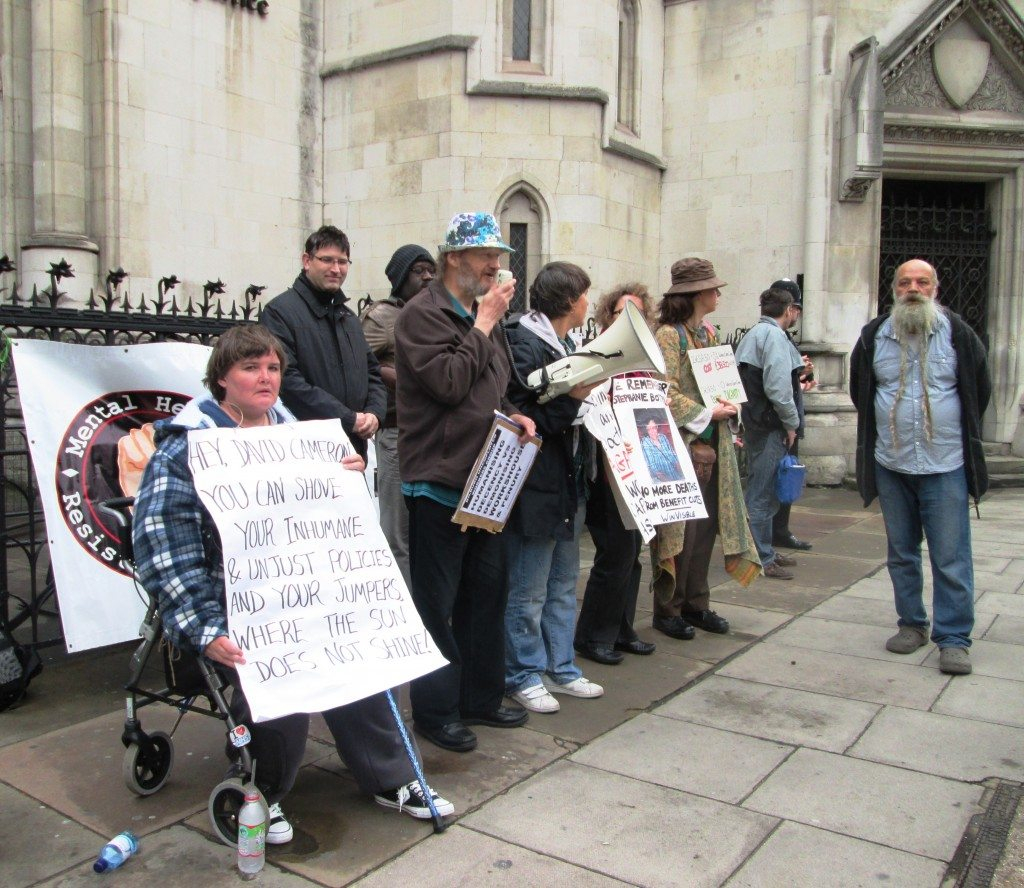 Vigil for the Appeal of the Case in October 2013