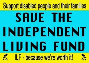 Save the Independent Living Fund Postcard