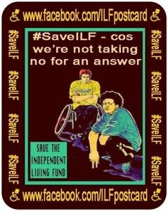 SaveILF - Cos we're not taking no for an answer