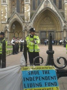 westminsterabbey-protest2