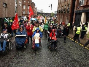 DPAC protest pic