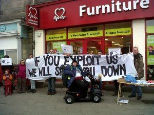 Boycott WorkFare, If you Exploit Us, We Will Shut You Down