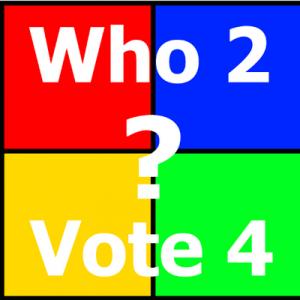 Who2Vote4 Logo