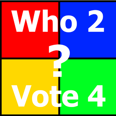 Who2Vote4 Logo