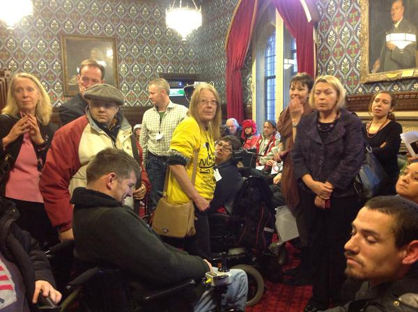@JeremyCorbyMP At excellent Independent Living Fund lobby. It must be brought back to give real respect and dignity!