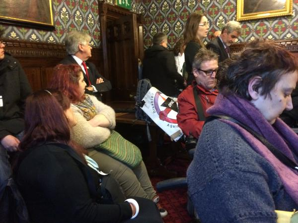 @JohnMcDonnellMP Fantastic atmosphere at @Dis_PPL_Protest lobby of MPs to bring back the ILF.