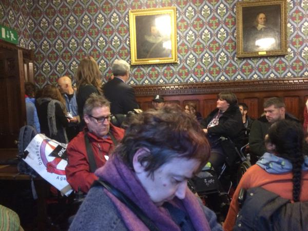 @johnmcdonnellMP Meeting DPAC campaigners lobbying MPs to bring back the ILF.