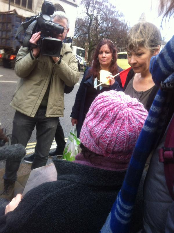 @redjolly1 Channel 4 filming with Caroline Lucas and #saveilf