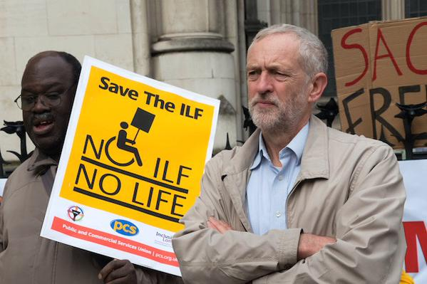Jeremy Corbyn is the ONLY labour leadership candidate to have consistently supported the Save The ILF Campaign throughout