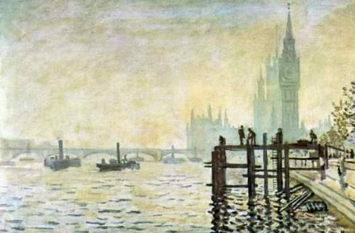 Claude Monet 'The Thames below Westminster