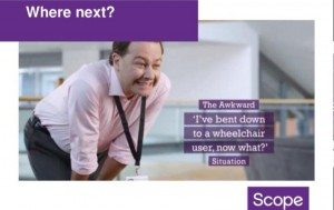SCOPE's End the awkward campaign advert