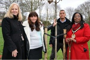16/01/15 Memorial unveiled to David Clapson in Stevenage - Hertfordshire,