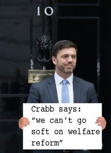"Crabb Says ""We can't go soft on welfare reform"""