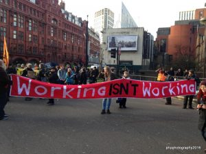 MRRN, DPAC and Boycott Workfare protest in Islington against having Work Coaches in GP Surgeries