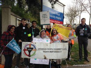 DPAC in solidarity with Junior Doctors during their strike
