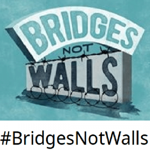 Bridges Not Walls Logo