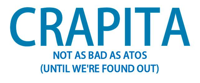 Reads: Crapita, Not as bad as Atos (until we found out)