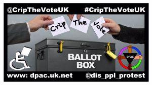 Crip the Vote UK Ballot Box Meme