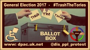 Ballott Box Meme for the #TrashTheToriesCampaign