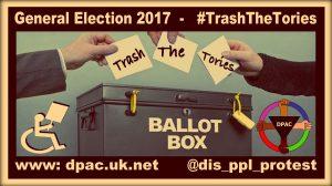 Ballott Box Meme for the #TrashTheToriesCampaign