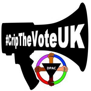Crip the Vote UK Loud Hailer Icon