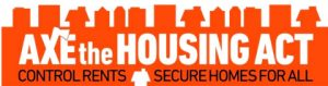 Axe The Housing Act Logo