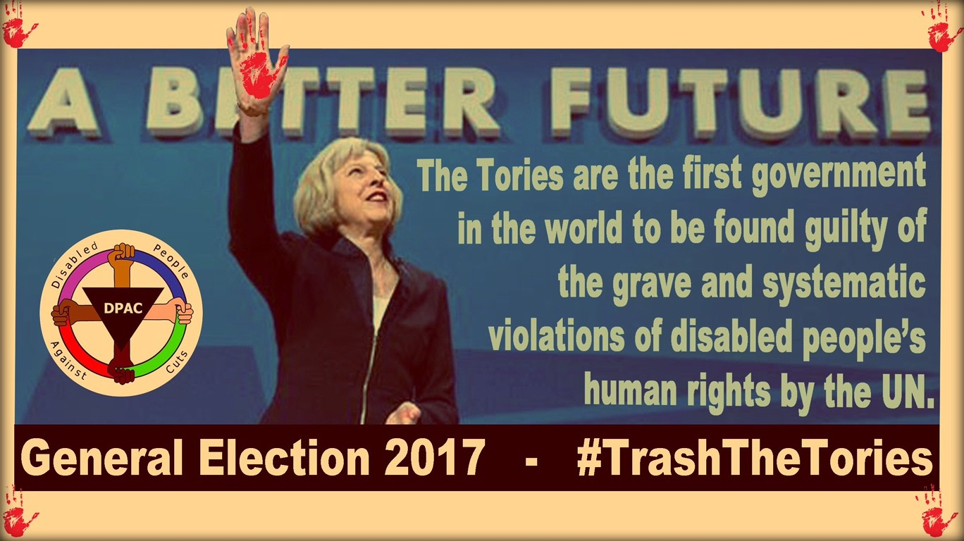 #TrashTheTories - Join us in Maidenhead June 3rd from 2pm