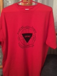 TShirt (Red) £10 plus £3 p&p