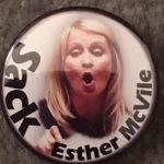 Sack Esther McVile Badge
