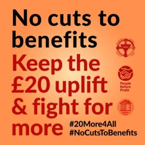 Please join day of action vs £20 cut to Universal Credit - 6 Feb 2021 - DPAC